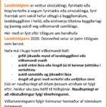 Landstólpinn - Viðurkenning Byggðastofnunar