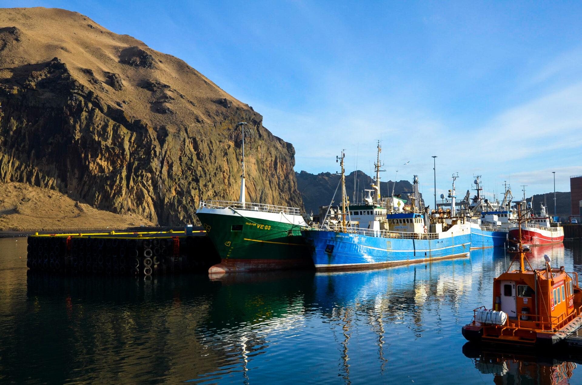 Úthafsfiskeldi við Vestmannaeyjar