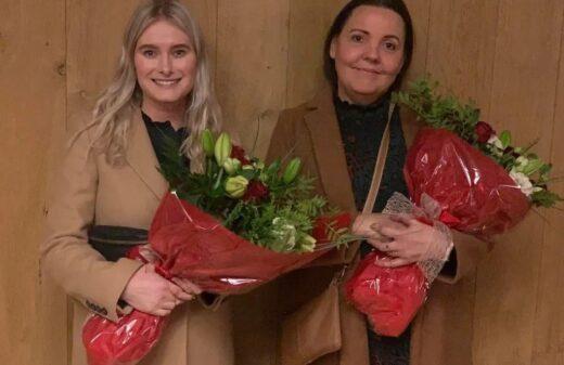 Snjólaug og Unnur - menntaverðlaun 2020